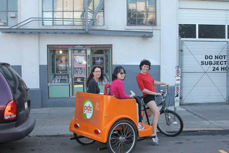 PDX Pedicab Tour