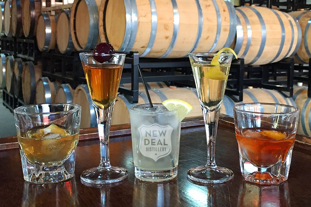 new deal cocktail tasting