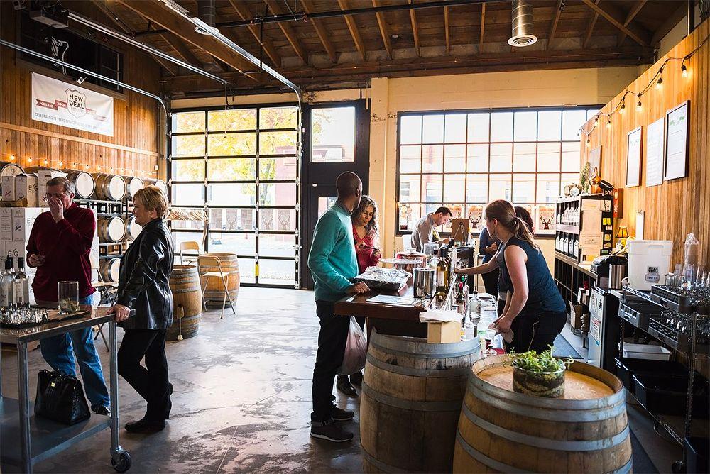 New Deal Distillery Tasting Room