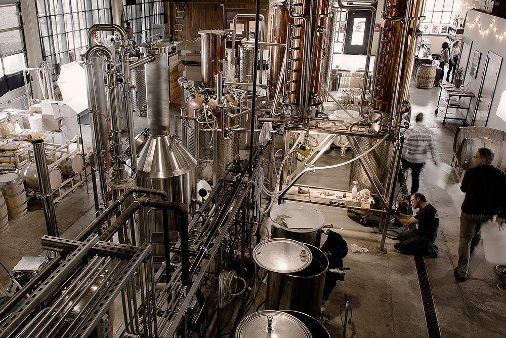 new deal distillery tour